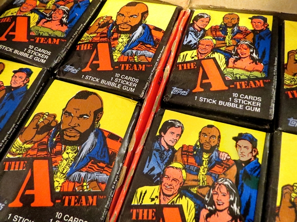 While Supplies Last Were Giving A FREE Pack Of Vintage Team Trading Cards To Anyone Who Buys Photo Op With The Van We Just Pity Poor Fool